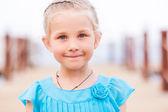 美しい少女の肖像画 — ストック写真