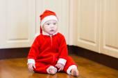 Little baby Santa — Foto de Stock