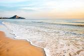 Tropical beach wave — Stock Photo