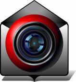 Video email — ストックベクタ