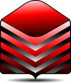 символ папки — Cтоковый вектор