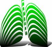 Pulmonary Diagnostics — Stock Vector