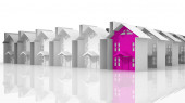 Search for suitable housing — Stock Photo