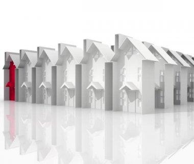 Zoeken naar geschikte huisvesting — Stockvideo