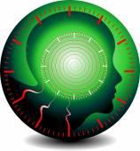 Logo of hypnosis — Stock Photo