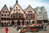 Romer Square Frankfurt — Stock Photo