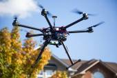 Flying Drone — Stock Photo