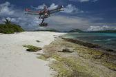 Aerial tropical patrol — Stock Photo
