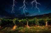 åska med blixt — Stockfoto