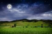 Beautiful Night background — Stock Photo
