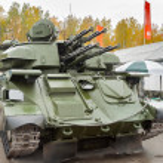 Antiaircraft missile system ZSU-23-4M4 Shilka-M4 — Stock Photo #52263585