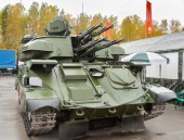 Antiaircraft missile system ZSU-23-4M4 Shilka-M4 — Stock Photo