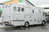 Transport for horses — Stock Photo
