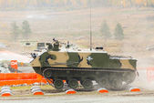 Airborne tracked armoured personnel carrier — ストック写真