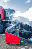 Agricultural machinery exhibition. Tyumen. Russia — Stock Photo