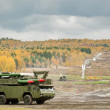 Buk-M1-2 surface-to-air missile systems — Stock Photo #54505505