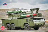 Bouck M2 surface-to-air missile systems — Stockfoto