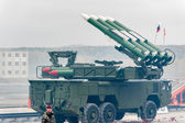 Bouck M2 surface-to-air missile systems — Stock Photo