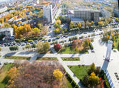 World war 2 Memorial Square. Tyumen. Russia — Stock Photo