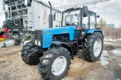 Tractor demonstration of Belarus production — Stock Photo