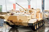 Combat reconnaissance vehicle BRM-3K — Stock Photo