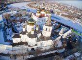 Aerial view on Holy Trinity Monastery — Stockfoto