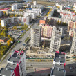 Bird eye view on residential districts in Tyumen — Foto Stock #58491449