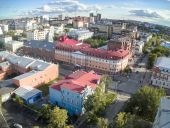 Historical part of Tyumen city. Russia — Stock Photo