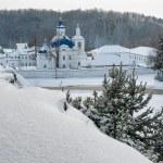 Mosteiro de ioanno-vvedensky. priirtyshsky. Rússia — Foto Stock #59257825
