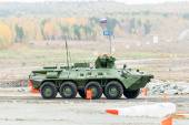 BTR-82A armoured personnel carrier — Stock Photo