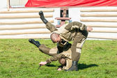 Demonstration performances of special troops — Stockfoto