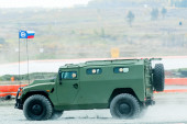 VIPS-233115 Tiger-M armored vehicle. Russia — Stock Photo