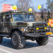 Offroad car of Emergency Ministry on parade — Stock Photo #63592507