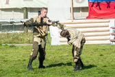 Demonstration performances of special troops — Stok fotoğraf