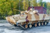 Combat reconnaissance vehicle BRM-3K in motion — Stock Photo