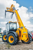 Agriculture wheel loader. Tyumen. Russia — Stock Photo
