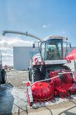 Fodder harvesting RSM 1401 combine — Stock Photo