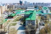 Obstetric hospital No. 1, Tyumen — Stock Photo