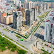 Residential distrct in Tyumen. Russia — Stock Photo #74669857