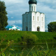 Church of the Intercession on River Nerl — Stock Photo #80879970