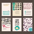 Set of abstract frames — Stock Vector #68376985