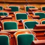 Empty vintage congress — Stock Photo #68411533