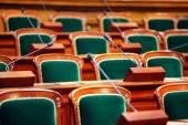 Empty vintage congress — Stock Photo