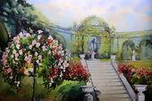 Pittura ad acquerello — Foto Stock