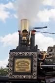 Steam valve release — Stock Photo