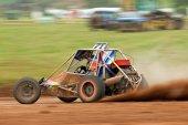 Autograss speed car — Stock Photo