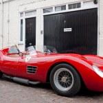 Постер, плакат: Red classic Ferrari