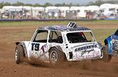 Autograss UKAC  championship — Stock Photo