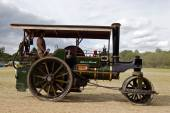Vintage traction engine — Stock Photo