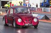 VW drag car beetle — Stock Photo